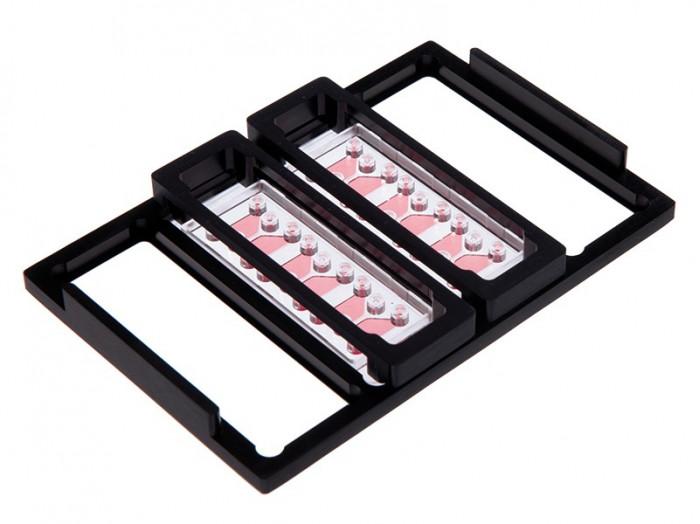 µ-Slide Microscopy Rack