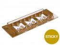 sticky-Slide Chemotaxis