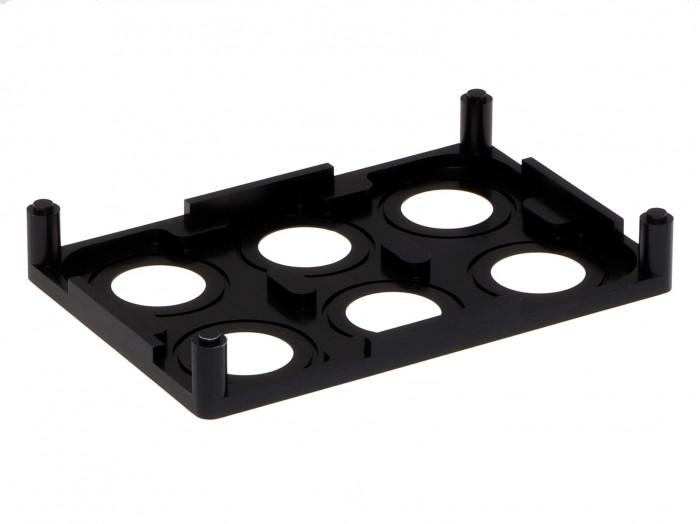 µ-Dish Microscopy Rack