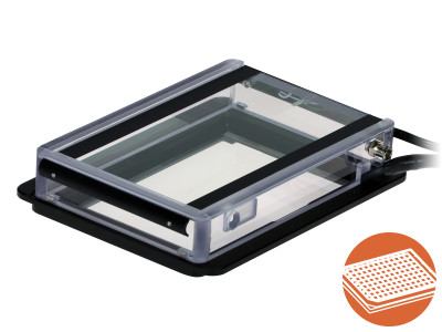 Heated Plate and Heated Lid for ibidi Heating System, Multi-Well Plates, K-Frame