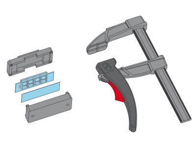 Clamp for sticky-Slides / Adapters